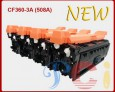 Color Toner Cartridges HP CF360~3A New build With chip