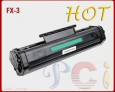 Black Toner Cartridges Canon FX-3 New build Without chip